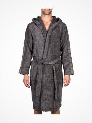 Morgonrockar - Calvin Klein Loungewear Terry Logo Robe Grey