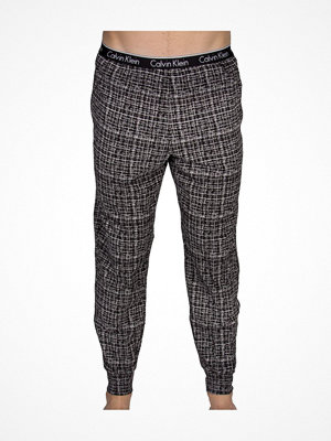 Pyjamas & myskläder - Calvin Klein CK One Essential Sleep Cuffed Pant Black pattern-2