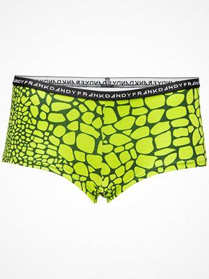Frank Dandy Womens Boxer Crocodile Green Pattern