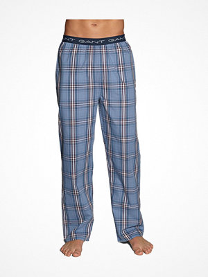 Pyjamas & myskläder - Gant Hudson Check Pajama Pants Lightblue