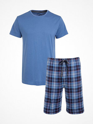 Pyjamas & myskläder - Jockey Loungewear Pyjama Short Sleeve 3XL-6XL Blue
