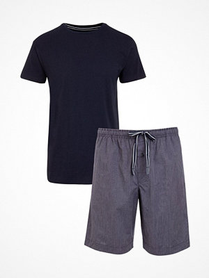 Pyjamas & myskläder - Jockey Loungewear Pyjama Mix Navy-2