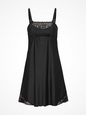 Nattlinnen - Swegmark Adamo Luxury Nightdress  Black