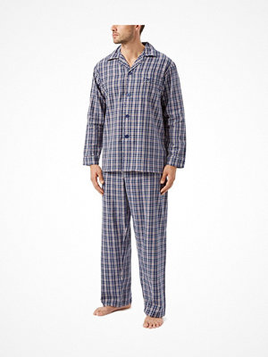 Pyjamas & myskläder - Wolsey Brushed Cotton Pyjama Navy-2