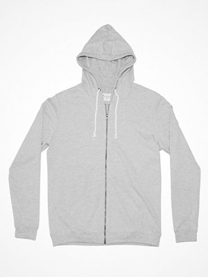 Bread and Boxers Men Hoodie Grey