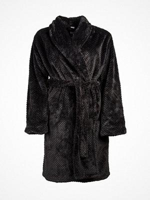 Morgonrockar - Calvin Klein Harmony Robe Black