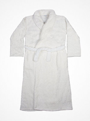 Morgonrockar - Damella 97165 Bathrobe  White