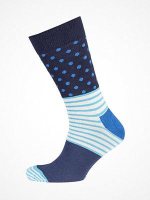 Strumpor - Happy Socks Stripe Dot Sock Blue