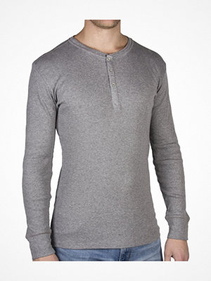 Pyjamas & myskläder - Levi's 300LS Cotton Rib Long Sleeve Grey