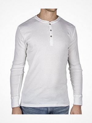 Pyjamas & myskläder - Levi's 300LS Cotton Rib Long Sleeve White