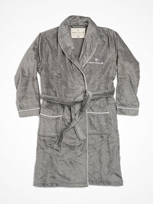 Rayville Paul Bathrobe Solid Grey