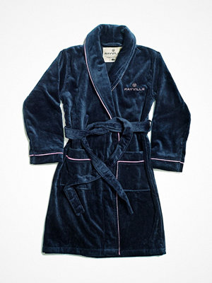 Morgonrockar - Rayville Joan Bathrobe Solid Blue