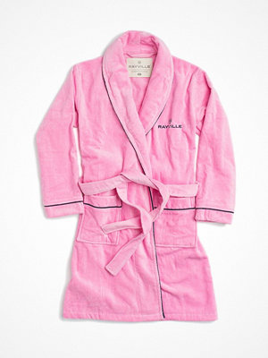 Morgonrockar - Rayville Joan Bathrobe Solid Pink