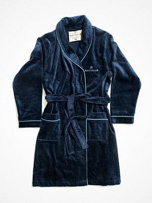 Morgonrockar - Rayville Paul Bathrobe Solid Blue