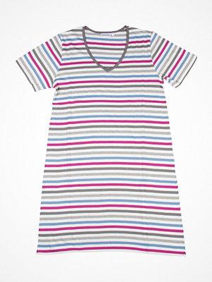 Nattlinnen - Damella 69011 Nightdress  Striped-2