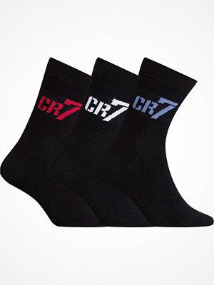 CR7 Cristiano Ronaldo 3-pack Boys Socks Black