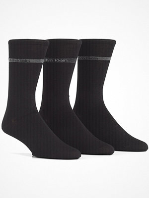 Calvin Klein 3-pack Bamboo Band Logo Socks Black