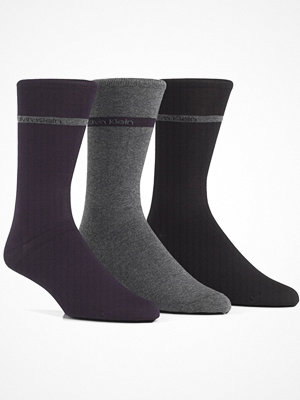Calvin Klein 3-pack Adam Bamboo Socks Navy-2