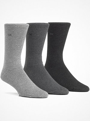 Calvin Klein 3-pack Cotton Sock Light grey