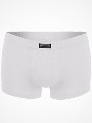 Kalsonger - Bruno Banani Basic Check Line Short White