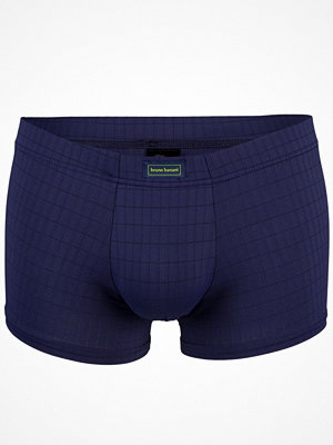 Bruno Banani Basic Check Line Short Navy-2