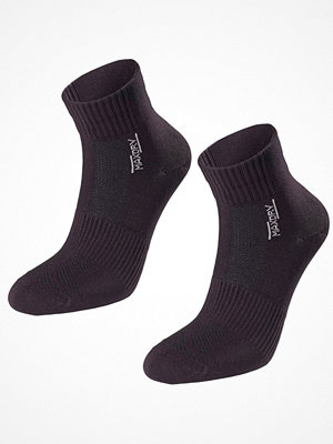 Strumpor - Pierre Robert 2-pack Mid Cut Socks Women Black