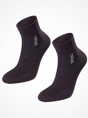 Strumpor - Pierre Robert 2-pack Mid Cut Socks Women Black