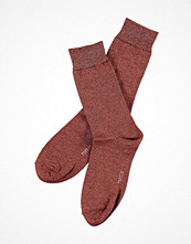 Strumpor - Topeco Mens Sock Bamboo Twisted Wine red