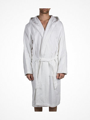 Morgonrockar - Calvin Klein Loungewear Terry Logo Robe White
