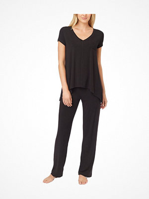 Pyjamas & myskläder - DKNY Urban Essentials Short Sleeve Top Black