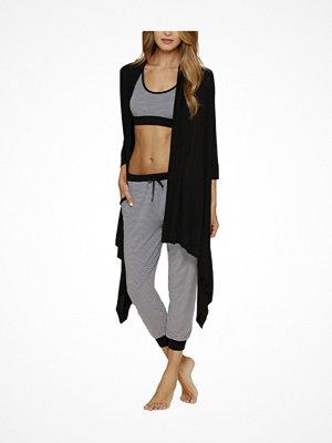 DKNY Urban Essentials Cozy Cardigan  Black