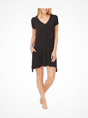 Nattlinnen - DKNY Urban Essentials Short Sleeve Sleepshirt Black