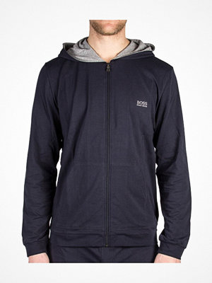 Pyjamas & myskläder - Hugo Boss Mix and Match Jacket Hooded Navy-2