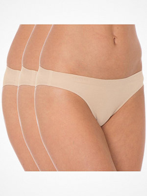 Sloggi 3-pack sloggi Invisible Supreme Cotton Mini Beige