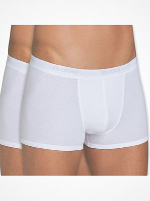 Kalsonger - Sloggi 2-pack For Men Basic Shorts White
