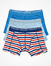 Kalsonger - Björn Borg 3-pack Boys Basic Stripe Shorts Blue/Lightblue
