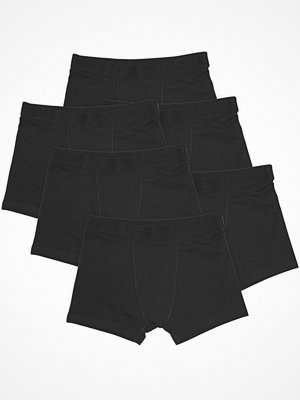 Bread and Boxers 6-pack Boxer Briefs  Black