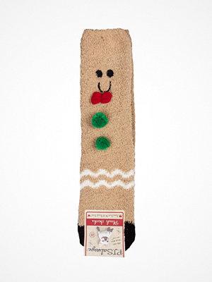 Strumpor - P-J Salvage Fun Socks Gingerbread Multi-colour