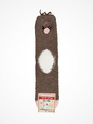 Strumpor - PJ Salvage Fun Socks Deer Brown patt