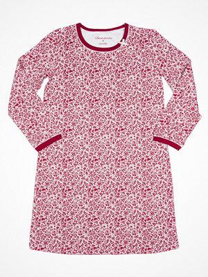 Nattlinnen - Damella 69017 Nightdress Red Pattern-2