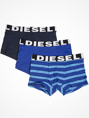 Kalsonger - Diesel 3-pack Seasonal Edition Boxer Trunks Blue Striped