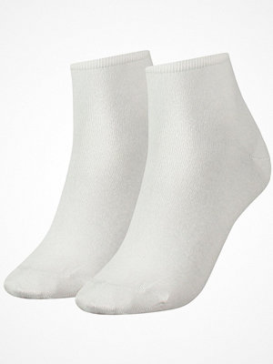 Strumpor - Tommy Hilfiger 2-pack Women Casual Short Sock White