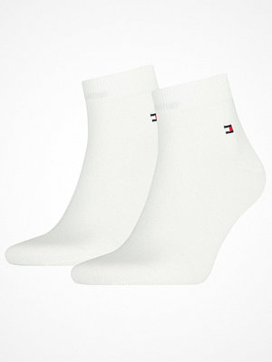 Strumpor - Tommy Hilfiger 2-pack Men Quarter Sock White