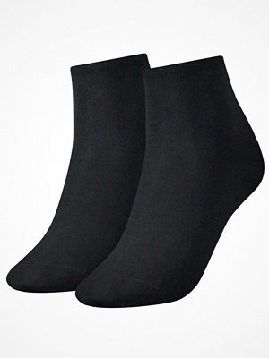 Strumpor - Tommy Hilfiger 2-pack Women Casual Short Sock Black
