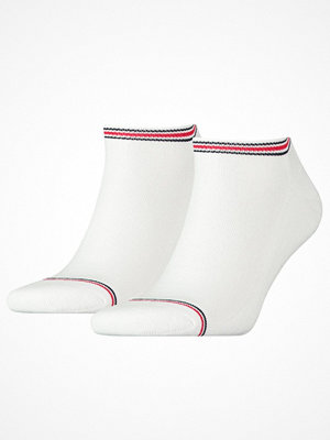 Strumpor - Tommy Hilfiger 2-pack Men Iconic Sports Sneaker Sock White