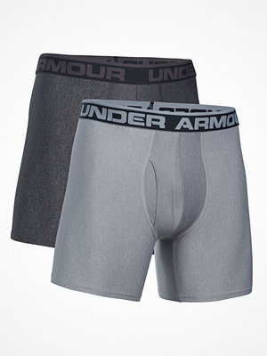 Kalsonger - Under Armour 2-pack Men Original Series Boxerjock Grey