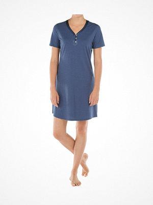 Nattlinnen - Calida Provence Sleepshirt Blue