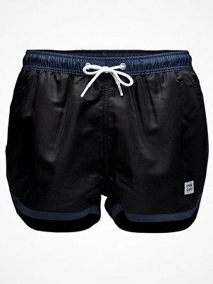 Frank Dandy Saint Paul Swim Shorts Black/Blue