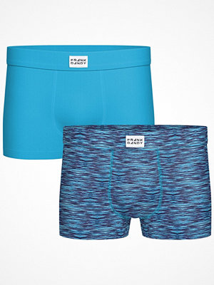 Frank Dandy 2-pack Bamboo Trunks Blue Pattern