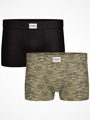 Frank Dandy 2-pack Bamboo Trunks Green Pattern